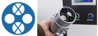 Charging CHAdeMO plug/connector, right hand image from Wikipedia.org