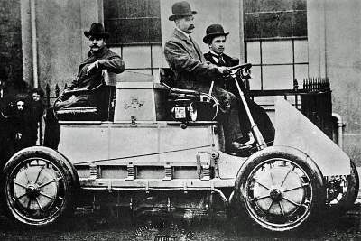 The Lohner-Porsche Mixed Hybrid, from wikipedia.org